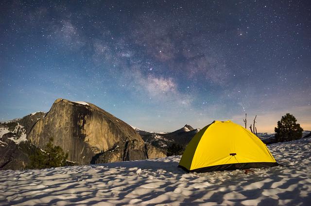Yosemite Spring Camping