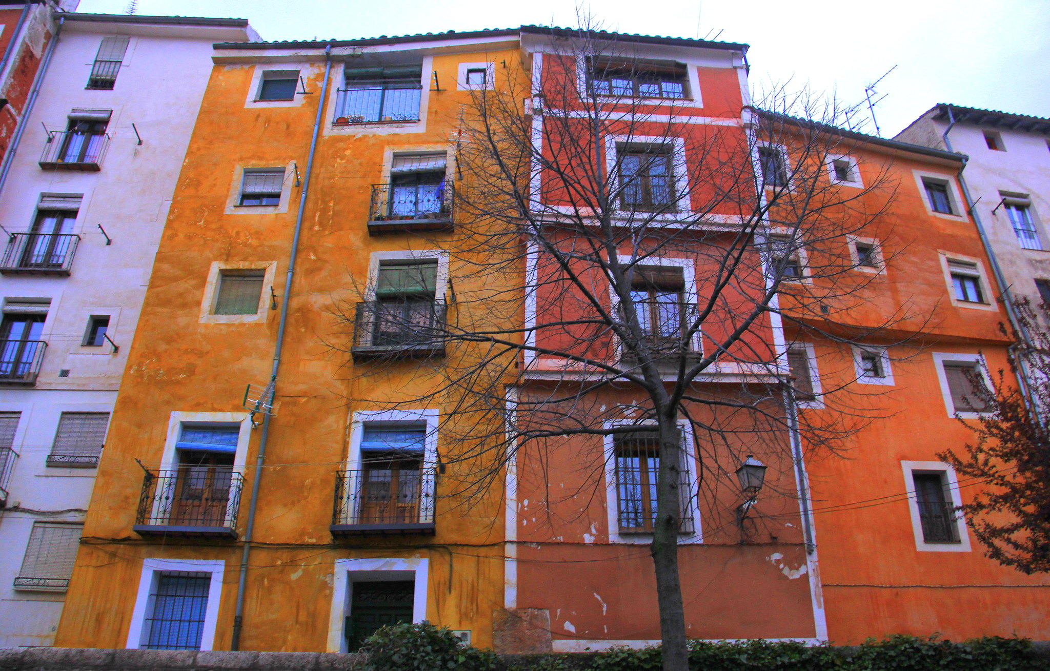 Visit Cuenca for modern abstract art, hanging houses and gorgeous natural location