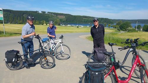 Testfahrer Pedelec Tour nach Saalburg-Ebersdorf