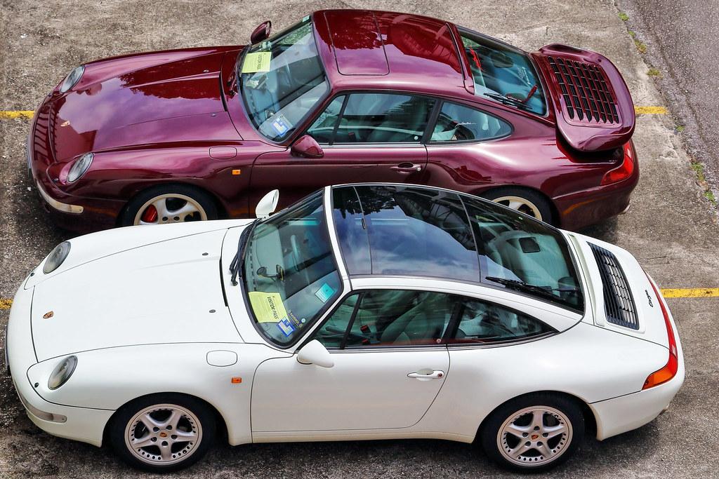 Porsche 993 Turbo & 993 Targa