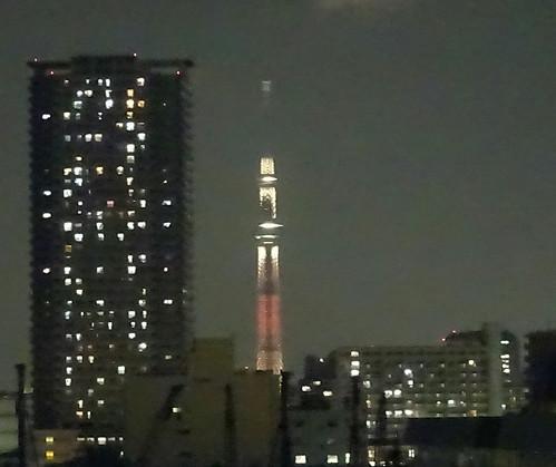 辰巳第2パーキングからの夜景