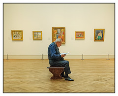 Contemplating Matisse - MET | New York
