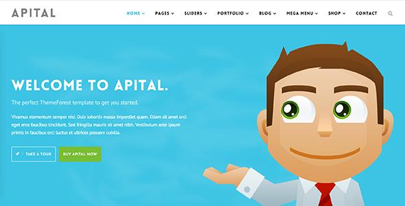 Apital v1.1 - Corporate Business WordPress Theme