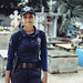 Small photo of Wow! This is a very charming policeman...