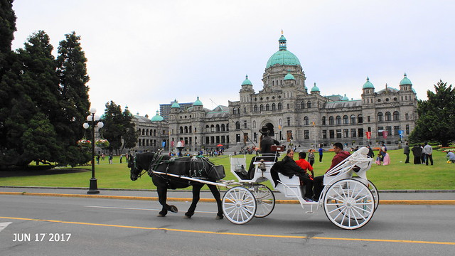 Scene Around Victoria carriage