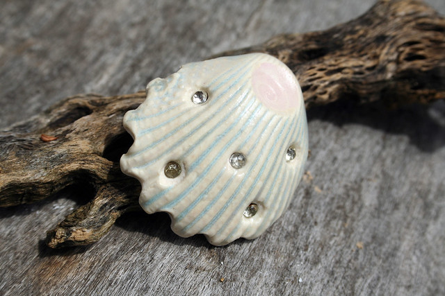 Porcelain Shank Button