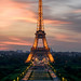 Champ-de-Mars & Tour Eiffel II by A.G. Photographe