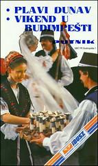 5867 PR Budimpešta Plavi Dunav Vikend u Budimpešti IBUSZ Putnik 1985.
