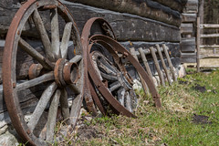 Ancient Wooden Wheels