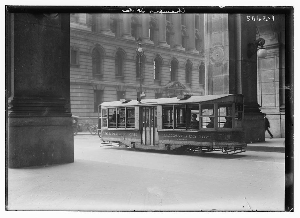 Chambers St. car (LOC)