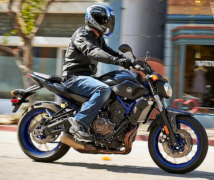 Yamaha MT-07 700 2015 - 25