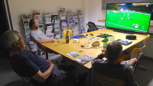 Testfahrer Viewing Deutschland DFB-Pokal Finale