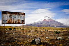 Welcome to the Cotopaxi national park - old western style