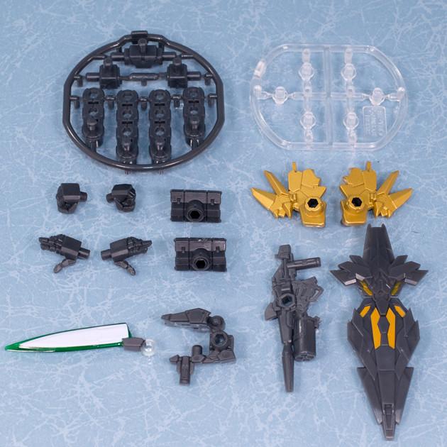 レビュー バンダイガシャポン 機動戦士ガンダム モビルスーツアンサンブル02 MS武器セット