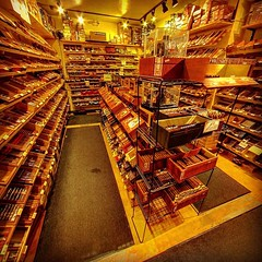 The Cigar Affair - Maumee #OH. Huge walk in humidor, nice lounge & awesome outdoor cigarden. This place is has a wonderful staff & is full of friendly folks such as @homercles_6, whom we can all thank for this review! Their inventory includes: Liga Privad