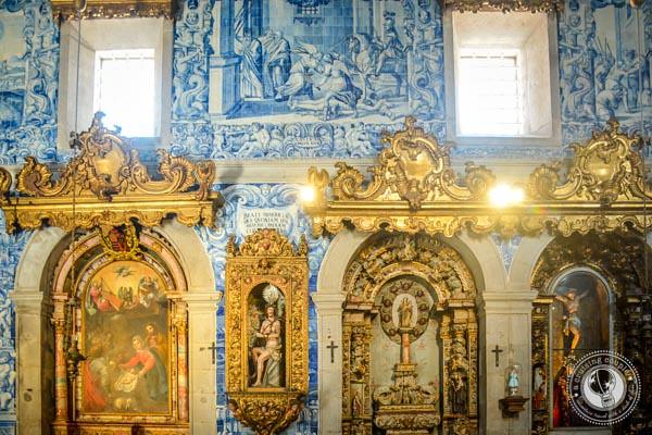 Igreja da Misericórdia Azulejo Panels