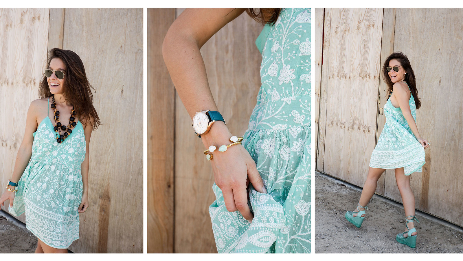 08_turquoise__dress_summer_outfit_miss_june_castañer_cuñas_aguamarina_theguestgirl_influencer_barcelona_laura_santolaria