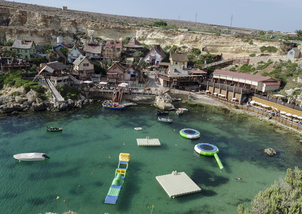 Popeye Village, also known as Sweethaven Village