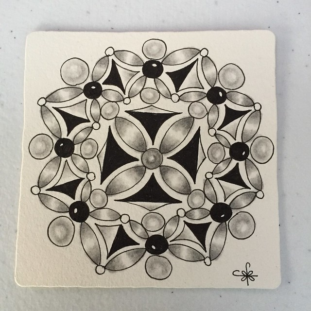 Square One: Purely Zentangle FB Page - Agni