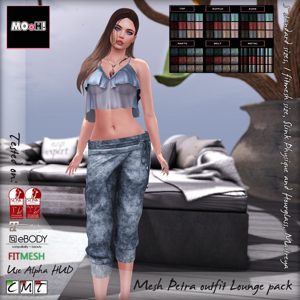 Petra outfit lounge pack - SecondLifeHub.com