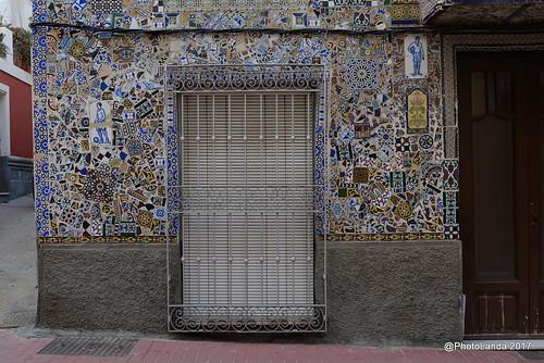 Casa en Cuevas de Almanzora, decoración con trozos de cerámica