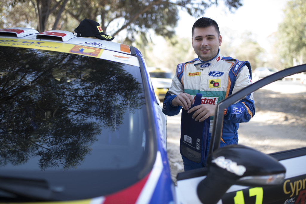 BANAZ Bugra (tur) and ERDENER Burak (tur) CASTROL FORD TEAM TÜRKIYE FORD FIESTA R2 ambiance portrait during the 2017 European Rally Championship ERC Cyprus Rally,  from june 16 to 18  at Nicosie, Cyprus - Photo Gregory Lenormand / DPPI