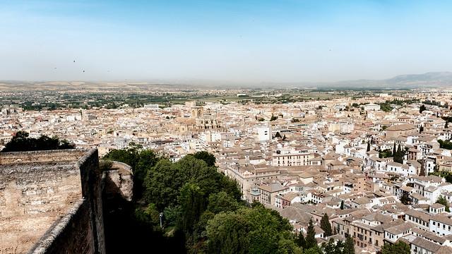 Granada from the Alcazaba