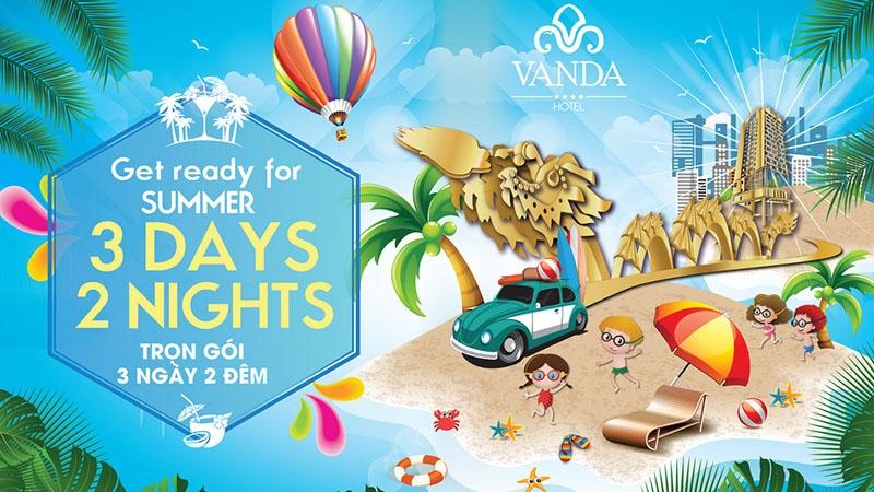 Vanda Hotel Đà Nẵng | Trọn gói 3 ngày 2 đêm chỉ với 4.000.000 VNĐ 2