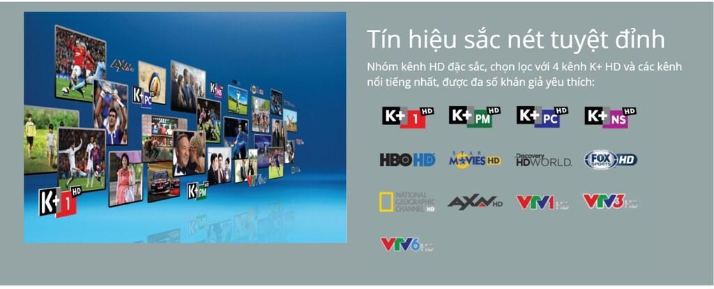 Lắp đặt k+ HD