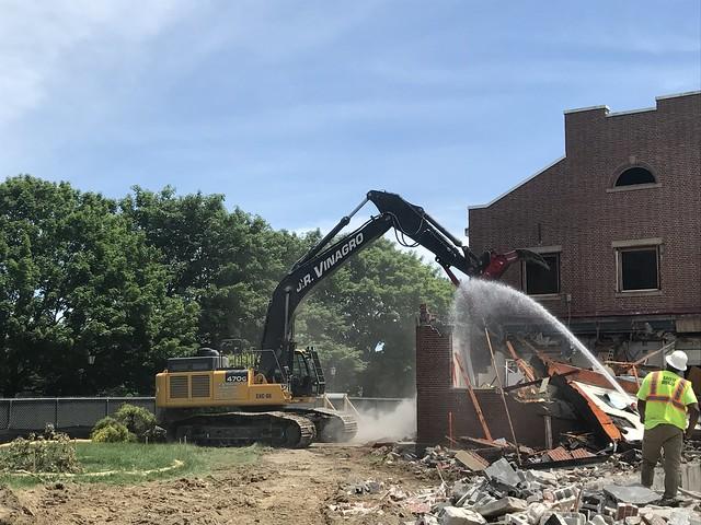 Old Student Union Demolition