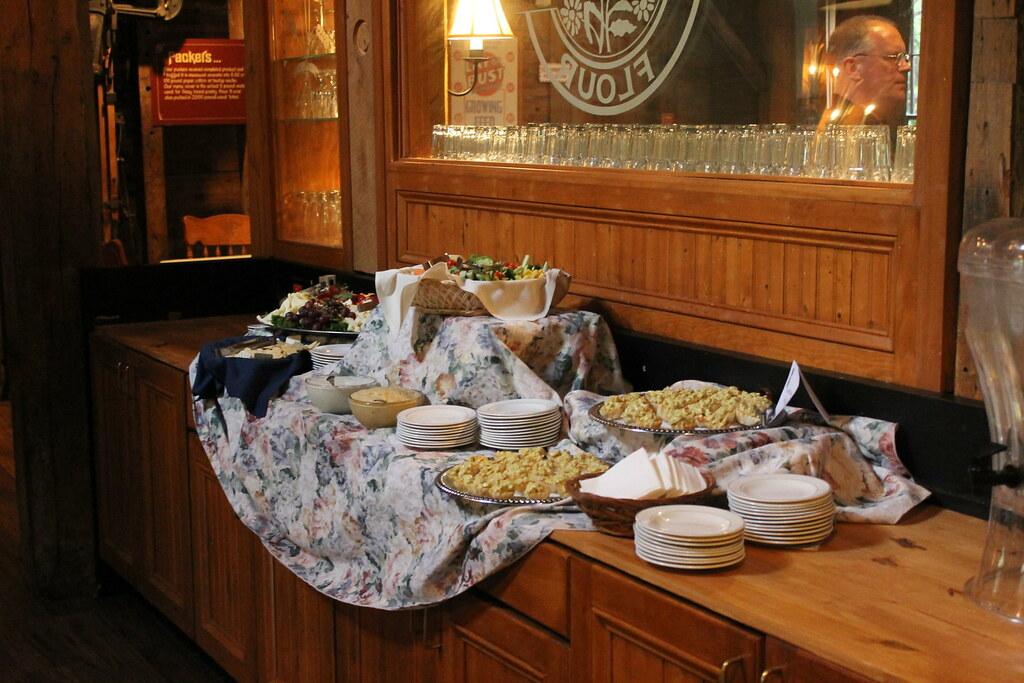 Pre-dinner buffet