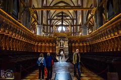 Interior de la Basìlica di Santa Maria Gloriosa dei Frari