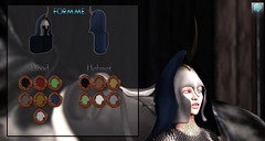 FORMME. Elven Warrior Cloaked Helmet AD