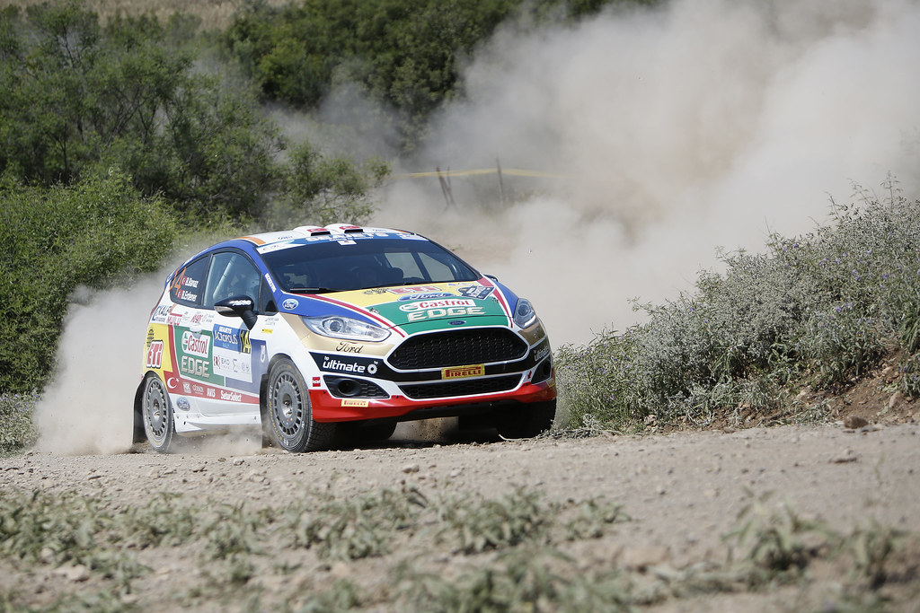 14 BANAZ Bugra (tur) and ERDENER Burak (tur) action during the European Rally Championship 2017 - Acropolis Rally Of Grece - From June 2 to 4 - Photo Thomas Fenêtre / DPPI
