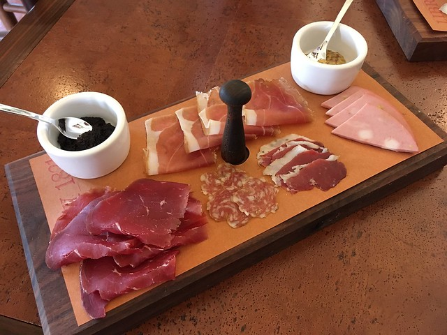 House made charcuterie - Barboursville Vineyards