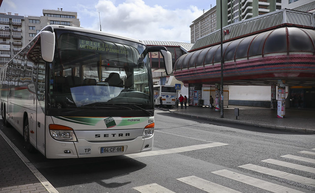 Mafrense bus - From Campo Grande, Lisbon to Mafra