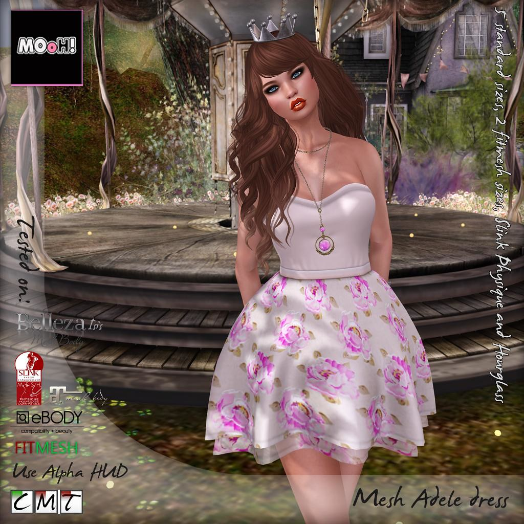 Adele dress - SecondLifeHub.com