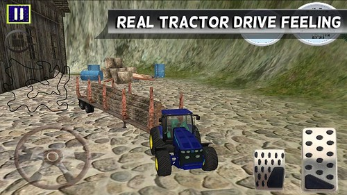 Tractor Hill Drive Cargo 3D