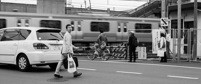 Kita-Senju, Canon EOS DIGITAL REBEL XTI, Canon EF 35mm f/2