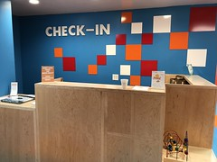 Forefront church - kid check in area