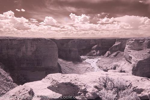 landscape ir chinle arizona unitedstates us
