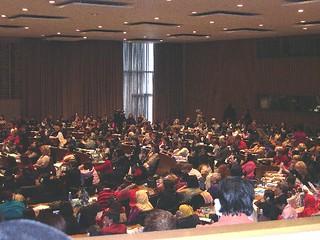 APC_At the CSW opening ceremony, 2005