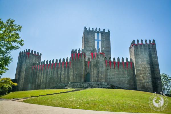 Guimarães Castle The Minho Portugal