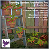 [ free bird ] Growing Garden Strawberry Plant Ad