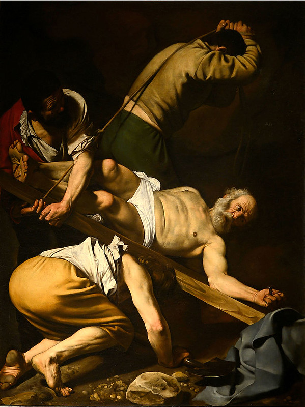 The Crucifixion of Saint Peter, by Caravaggio
