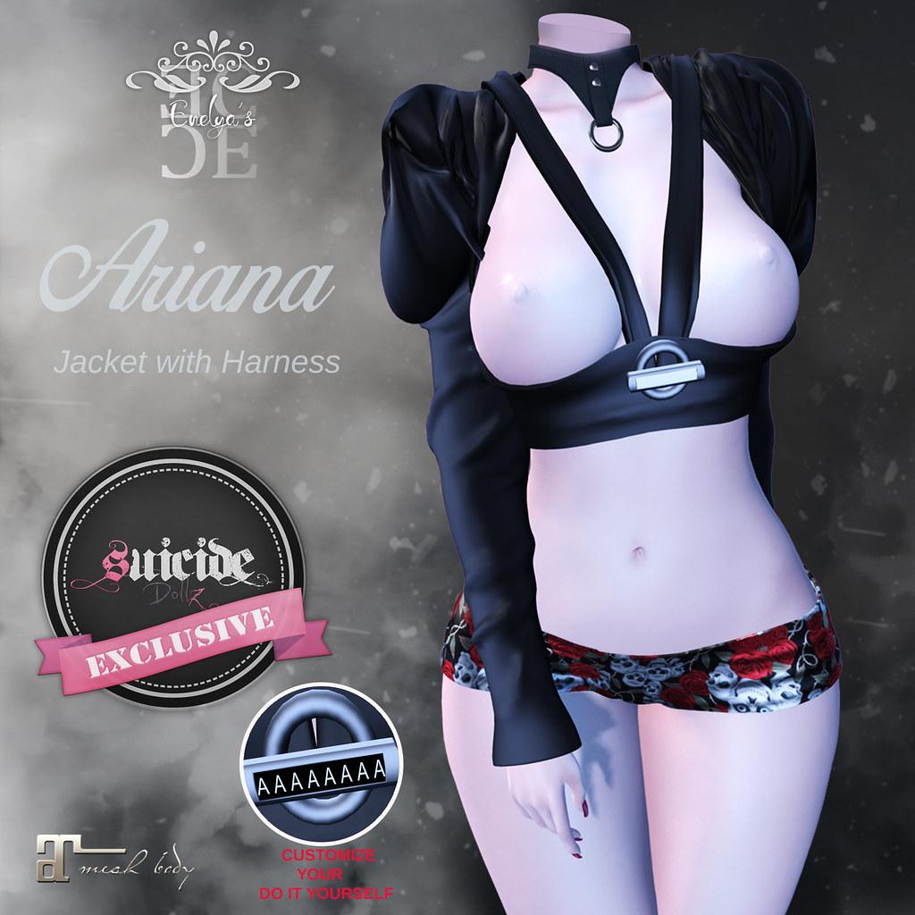 Affiche Ariana - SecondLifeHub.com