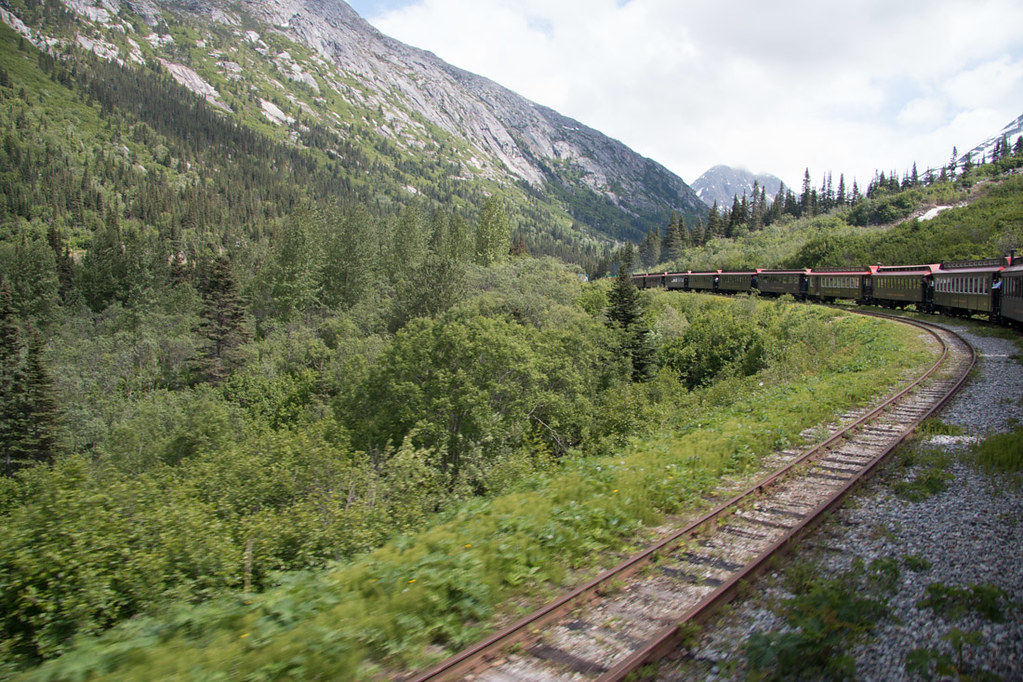 Views from White Pass and Yukon Route train