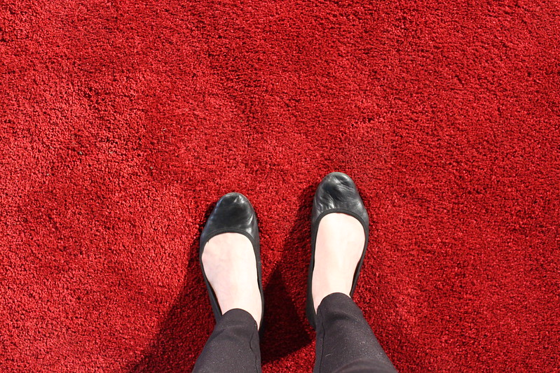 The red carpet @ TEDxUniHalle