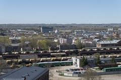 Skats no Daugavpils skrošu rūpnīcas torņa, 06.05.2017.