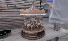 The Arcade - Tabletop Carousel Souvenir by Anya Ohmai